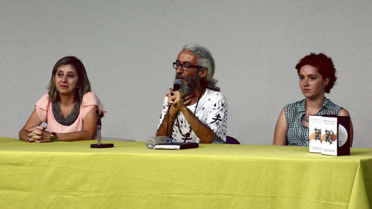 Lançamento da cartilha. foto: Paulo Henrique Thodoro Silva Leite
